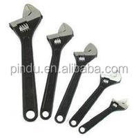 Forged carbon steel adjustable wrench