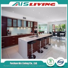 2017 Modern engineering gloss paint Turkey kitchen cabinets (AISKI-042)