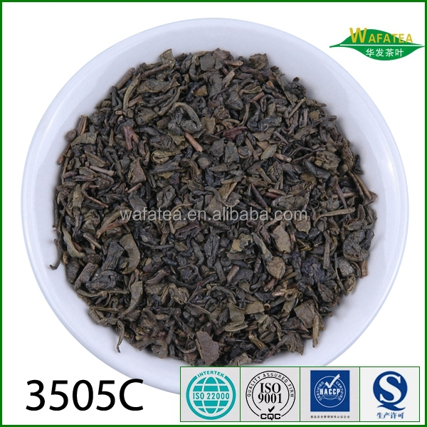 The world's fine Chinese GREEN TEA 3505C to Uzbekistan Kyrghyzstan , from SHAOXING