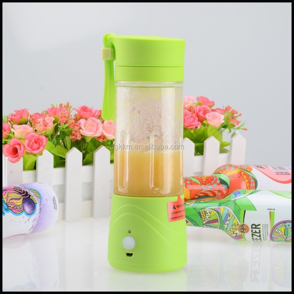 Healthy Choice Mini Rechargeable Juice Extractor Ice Frozen Fruit Vegetable Smoothie Drink Blender Mixer
