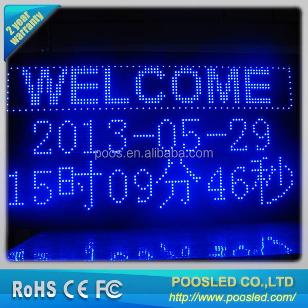 semi-outdoor led message display \ p10 led moving message sign \ led message/text sign board