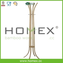 Eco-friendly Bamboo Clothes Coat Rack/Colthes Tree/HOMEX-BSCI