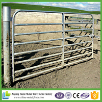 allibaba com 32 NB high tensile galvanised pipe Cattle yard pole gate