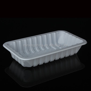 polystryene pp trays for packing meat and chicken