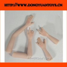 Customized Vinyl PVC Fashion Doll Arms Legs