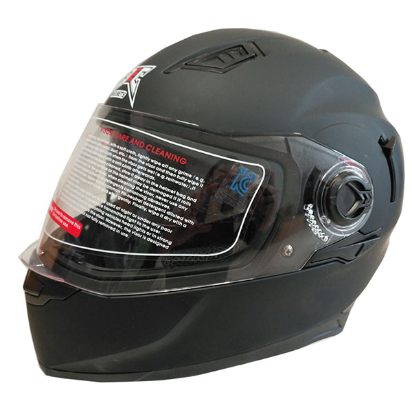 Newest DOT approved double visors full face motorcycle helmet