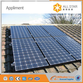 energy solar system home pv photovoltaic 60cells 5bb roof solar panel 270w