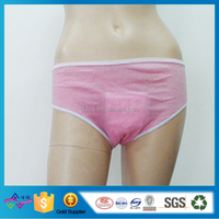 Biodegradable One Time Use Panty Medical Care Maternal Postpartum Pants Disposable Panties With Sanitary Pad