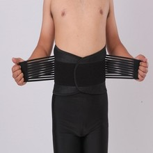 FDA & CE Certificate ultra soft adjustable waist trimmer belt lower back support for posture correction