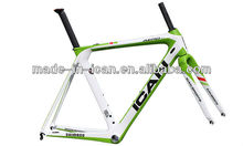 ICAN specialized AERO full carbon frame lightness,rigidity,durability carbon bike frames new design frame set