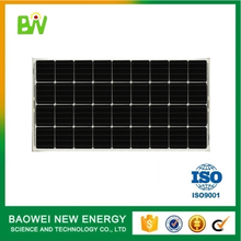 Mono pv module factory sell 150w 18v solar panel
