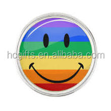 Free shipping 1 inch Gay Pride Lapel Pins