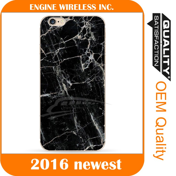 2016 new design marble back cover for iphone5 pc case