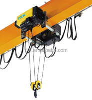 Electric elevator wire rope hoist/rope pulley hoist