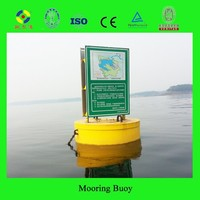 High impact resistance UHMW-PE mooring buoy from China IALA member factory