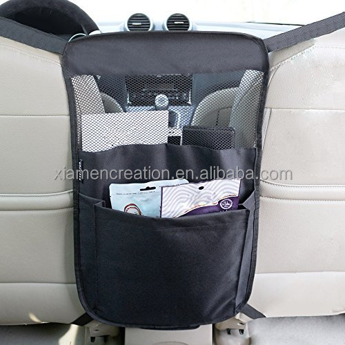 folding mesh pet barrier for car seat