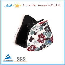 new design triangle hair clip for woman