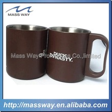 promotion food grade stainless steel coffee cup with lid