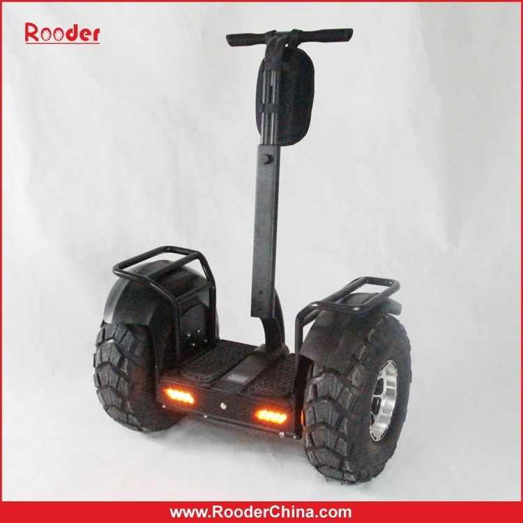 two wheel gyro scooter with removable battery & off road wheels from Shenzhen Rooder Manufacturer