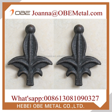 Decorative Wrought Iron Spearpoint 6233 For Iron Fence