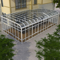Hot Sale Prefabricated Aluminium Sunrooms With Double Tempered Glass