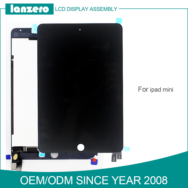 Excellent AAA Grade LCD Digitizer for iPad Mini Display Part with Touch Panel