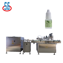SG High-Speed Liquid Filling & Capping Machine Rotate Back Wheel Small Liquid Filling Machine