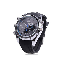 Built in 8G TF Card Night Light Wrist Watch Waterproof Invisible Hidden SPY Watch Camera With Audio Recording