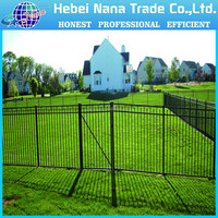 Free standing security electric fence protection system security electric fence