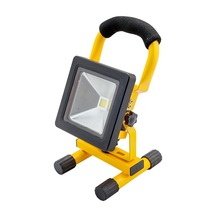 Free Sample IP65 Portable Outdoor Waterproof Aluminum Work COB Emergency Rechargeable LED Flood Light 10W 20W 30W 50W