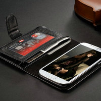 Used in spring summer autumn winter wallet mobile phone case for samsung galaxy S3 SIII S 3 I9300