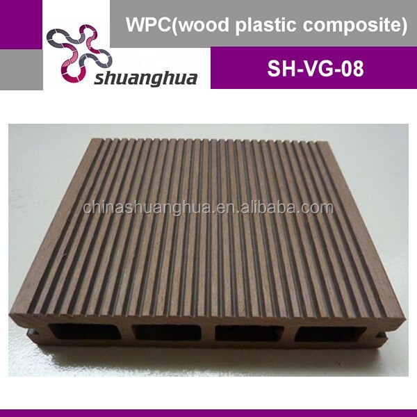 UV resistance & waterproof wpc deck floor price/board price