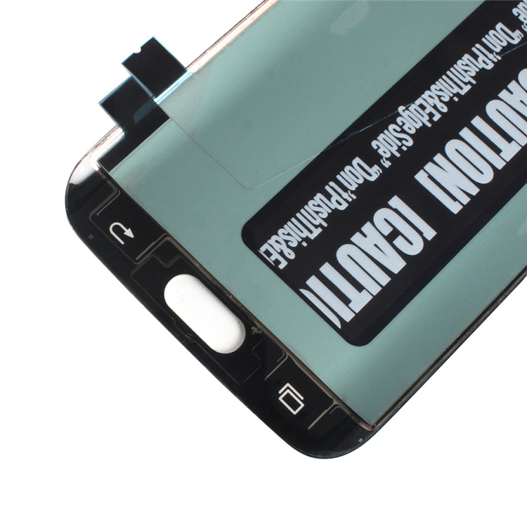 HQ grandever gold supplier high quality lcd touch screen for samsung galaxy s6 edge display