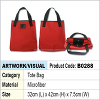 Microfiber Shopping Tote Bag