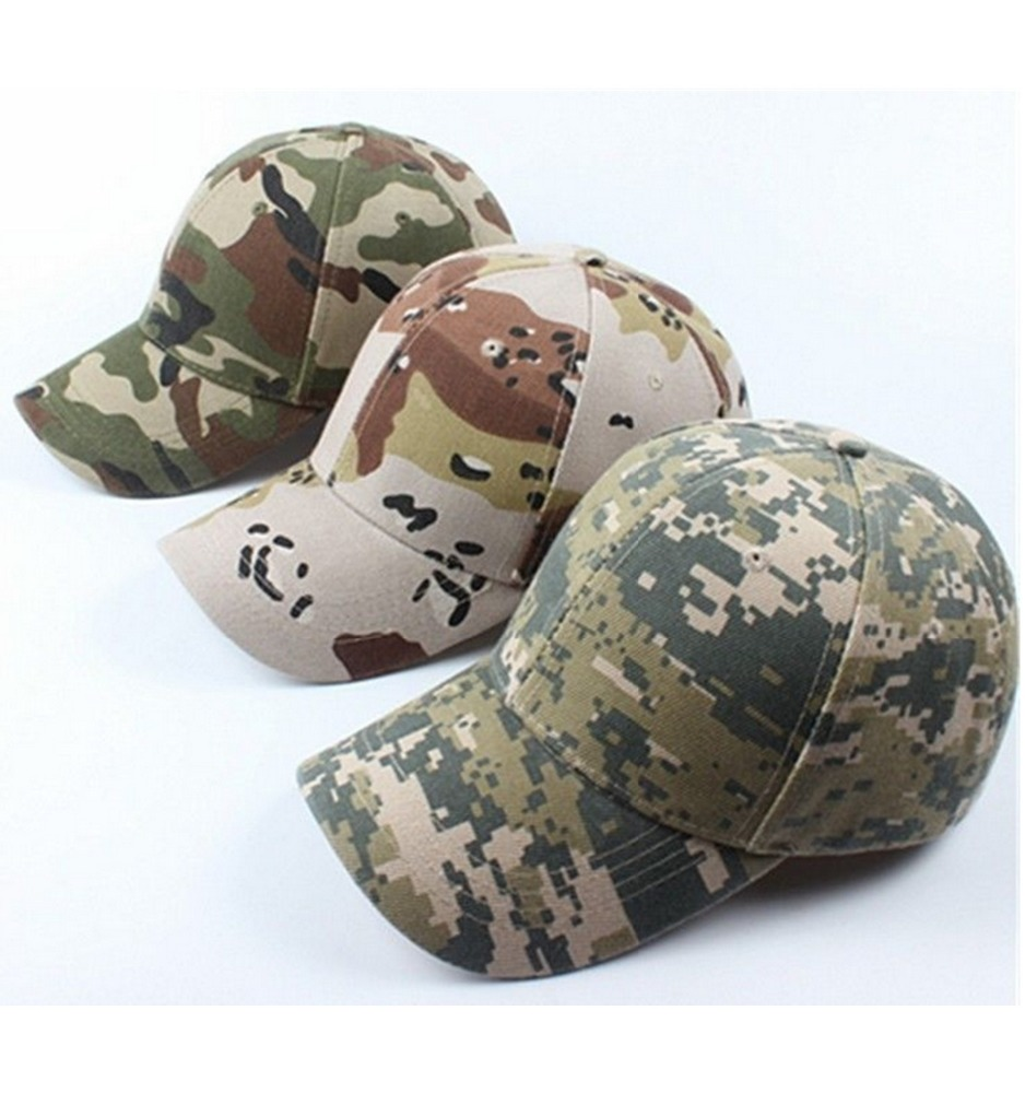 Adjustable Military Hunting Hat Camouflage Army Baseball Cap