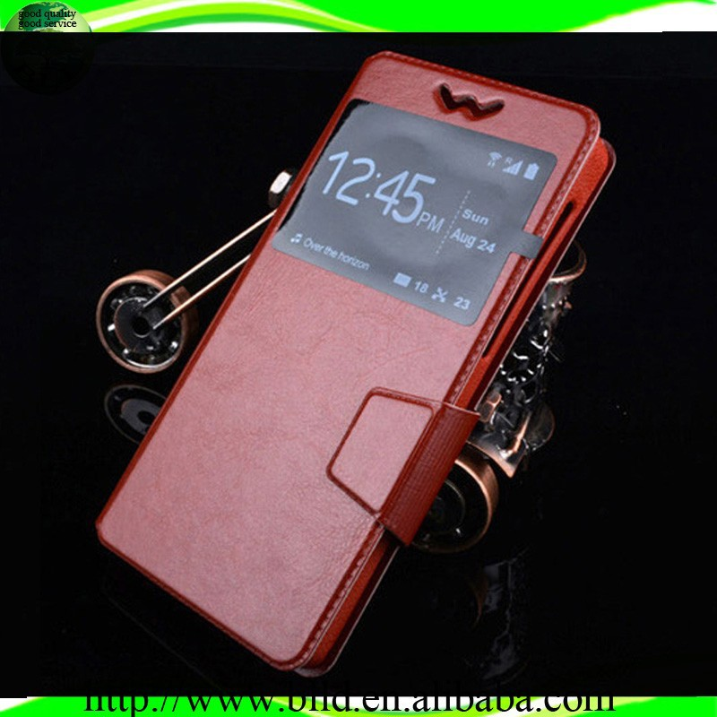 "New arrival special design 6 size universal leather cell phone case with strap with 3.6""-6.0inch"