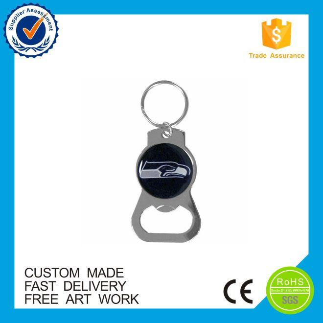 Promotional gifts classical beer bottle opener keychain