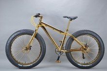 Luxurious 18K 26 inch fat bike mongoose bmx bike
