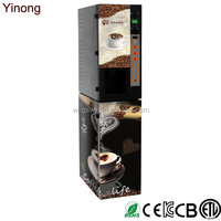 China Yinong GTS103 best price commercial espresso coffee vending machine with 3 hot and cold flavors