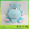 new product animal stuffed toy blue hippo plush hippo