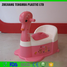 plastic baby potty/baby toilet seat (music player) duck/rabbit/ant