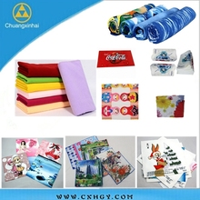 Full printed sublimation printing 100% polyester handkerchief of High Quality