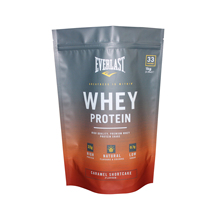 Custom Digital Print Stand Up Bag Whey Protein Pouch With Zipper For Protein Powder Packaging