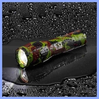 Camo Zoomable Amazingly Bright 5-Modes Camouflage Flashlight Torch Light Lamp XML T6 LED Tactical Flashlight