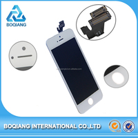 Shen zhen alibaba cell phone parts for iphone 5 lcd touch screen, phone lcd for iphone 5