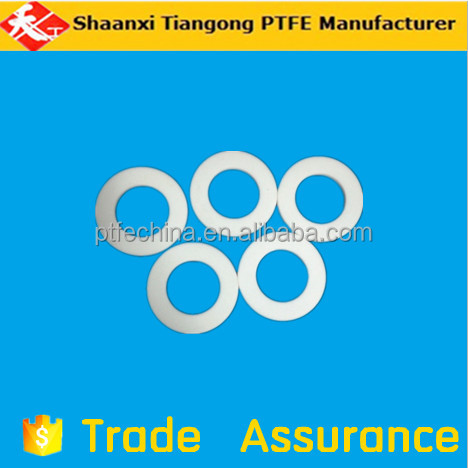 customize PTFE Gasket in stock , ptfe plastic Spacers & Washer