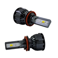 Super dual color white and yellow LED H7 Headlight All in One 4800lm 30W Car Accessories Headlight