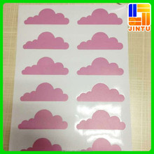 Waterproof customized A4 size kiss cut 3M vinyl sticker