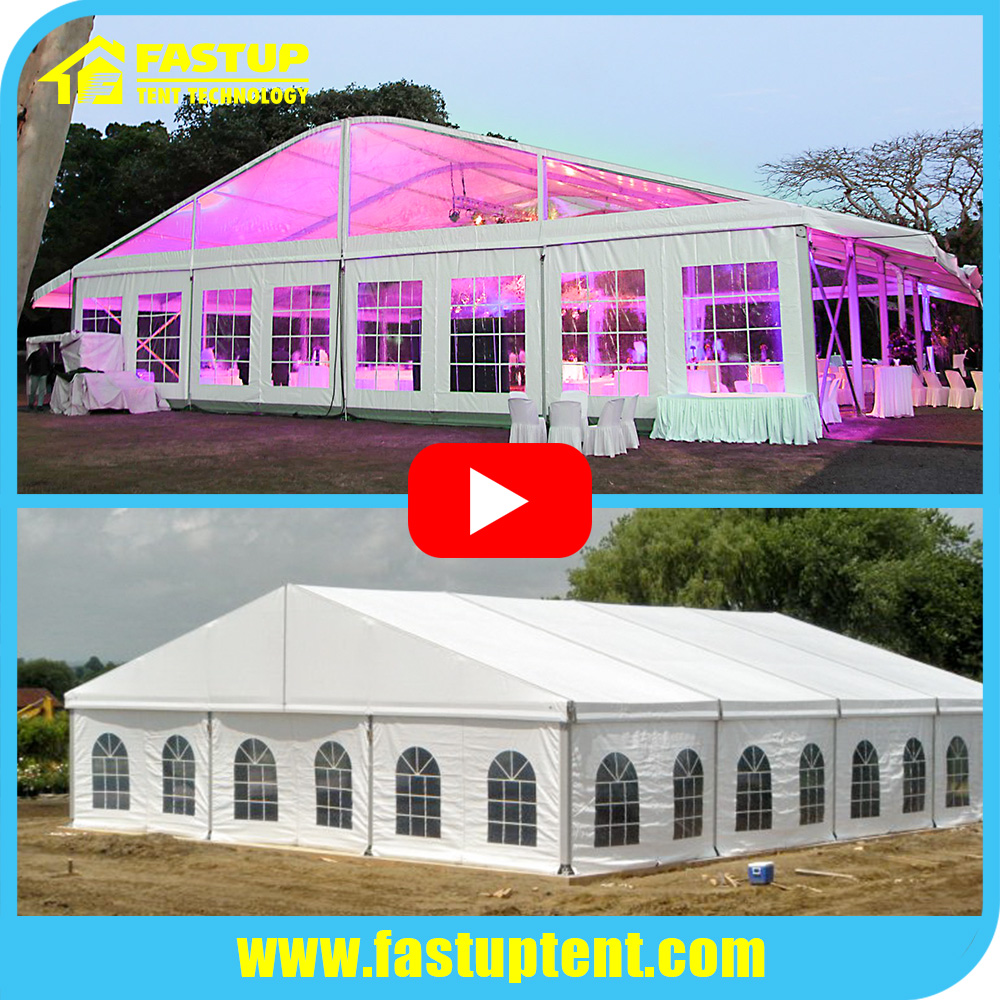 big Alumimum frame wedding party event marquee tent
