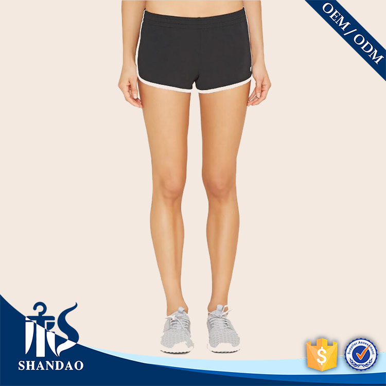 Guangzhou Shandao Factory Wholesale Summer Women Cotton Sport Gym fitness short hot pants